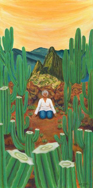 """""""Huachuma Meditation"""" van www.juliagoerlitz.com"""